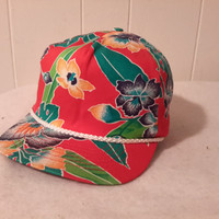 Floral Fresh Prince 90s all over print snapback hat cap Bel Air Retro Dope Fresh