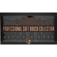 10 Piece Professional Soft Brush Collection - Beauty Accessories - Beauty - Women - TK Maxx