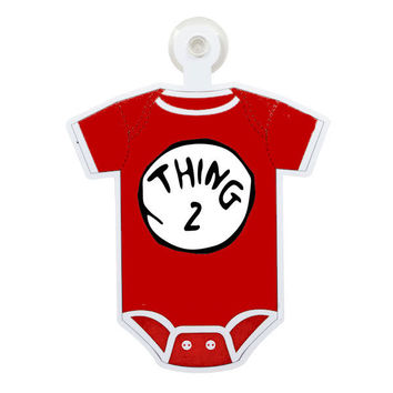 Dr. Suess Thing 2 Custom Printable Digital Iron On Transfer Clip Art DIY Tshirts Onesuits Instant Download