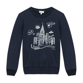 Paul Smith Boys NYC Graphic Sweater