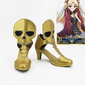 fate go order saber hero cosplay costume lolita unisex punk  party shoes halloween boots