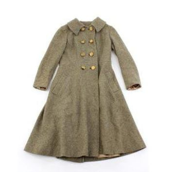 vintage 1950's VOYAGE BY TRAIN wool coat by clevernettle on Etsy
