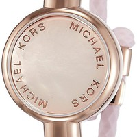 "Michael Kors ""Access Activity Tracker"" Crosby Silicone Bracelet"