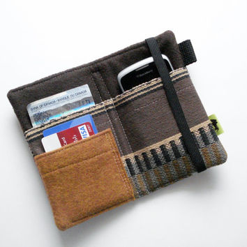 Tribal Tapestry wallet , iPhone wallet, natural wallet, iphone 5 blackberry hippie wallet boho earthy, natural, TLC Pouches, native design