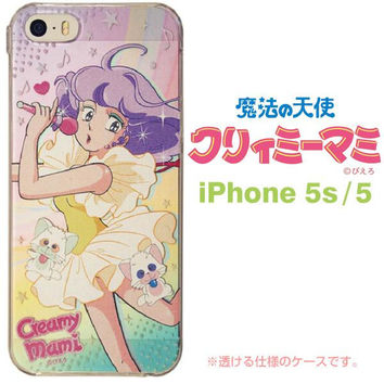 Creamy Mami Characters Hard Case for iPhone 5s/5 (Stage)