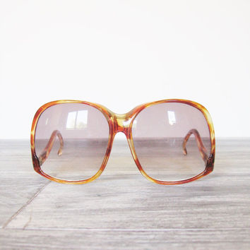 Vintage 1970's Foster Grant Oversized Ladies Sunglasses