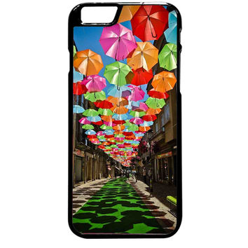 Umbrella Colorful Party For iPhone 6 Plus Case *ST*
