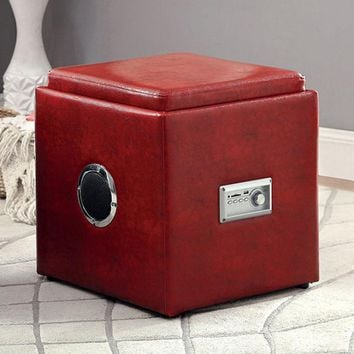Armoni Contemporary Ottoman, Red