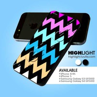 Zig Zag Pastel Strip case for iPhone 4/4s/5