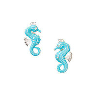 Seahorse Earrings, NLY Accessories