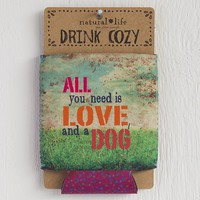 Love  And  A  Dog  Drink  Cozy  From  Natural  Life