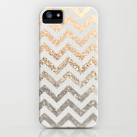 GATSBY GOLD & SILVER iPhone & iPod Case by Monika Strigel | Society6