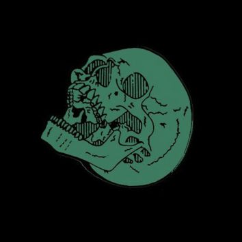 Laughing Skull Pin (Glow-in-the-Dark)