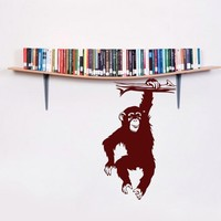 Monkey Vinyl Wall Art Decals by tezis on Etsy