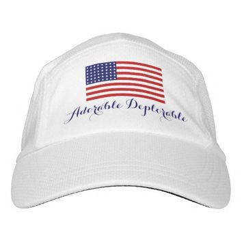 ADORABLE DEPLORABLE TRUMP WOMEN'S HAT