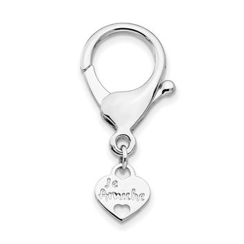 Le Amiche Silver-tone Keyring Connecting Clasp