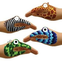 TEMPORARY HAND TATTOO SETS | Puppets, Animals, Monsters | UncommonGoods