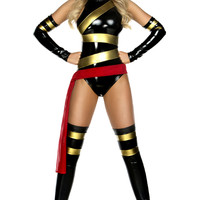 Haute Hero 4Pc. Sexy Superhero Costume
