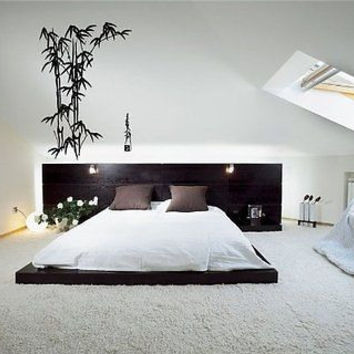 Bamboo Asian Decor Wall Art Sticker Decal D-13