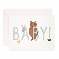 Baby Mint Greeting Card