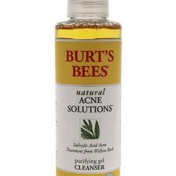 Burt's Bees Natural Acne Solutions Purifying Gel Cleanser By Burts Bees For Unisex - 5 Oz Cleanser