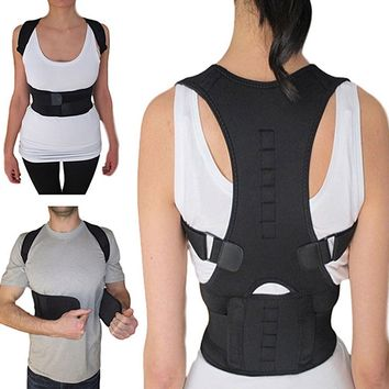 Hot Magnetic Therapy Posture Corrector Support Belt