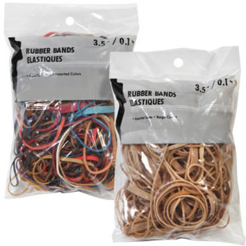 Bulk Assorted Rubber Bands, 3.5-oz. Packs at DollarTree.com