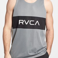 Men's RVCA 'Dealer' Reversible Mesh Jersey Tank Top,