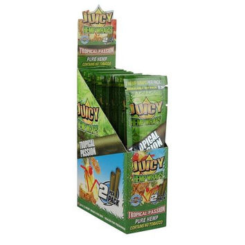 Juicy Hemp Wraps - Tropical Passion (Box of 50)