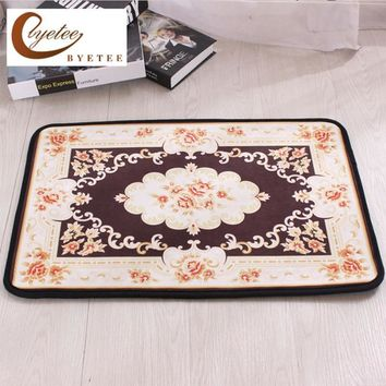 Autumn Fall welcome door mat doormat [byetee] European Style Kitchen Mat PVC Mat Rug Letters Mats For Kitchen Easy Cleaning 3 Sizes s Household Products AT_76_7
