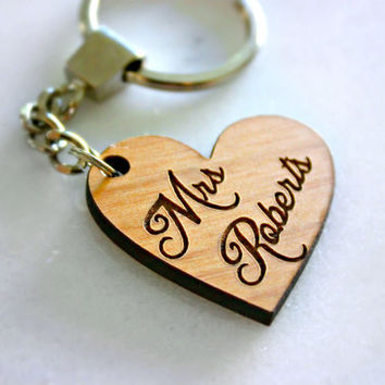 best personalized heart keychains products on wanelo