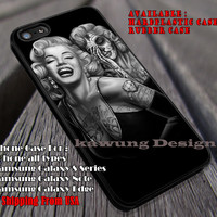 Marlyn Birds Tattoo iPhone 6s 6 6s+ 6plus Cases Samsung Galaxy s5 s6 Edge+ NOTE 5 4 3 #music #mlyn ii