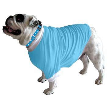 English Bulldog BEEFY Long T-Shirt - Fits 31 to 55 Pound Dog - Available in 6 Colors!
