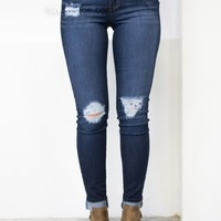 L.A. Dark Skinny Denim