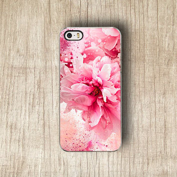 Blush Peony Floral iPhone 5 Case, Floral iPhone 5S Case, Cute Flower iPhone 4 Case, Pastel Floral iPhone 4S Case,Cute Fashion iPhone 5C Case