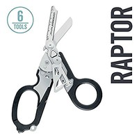 Leatherman - Raptor Shears, Black with MOLLE Compatible Holster (FFP)