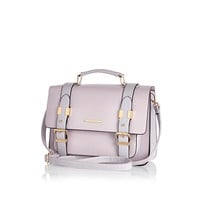 River Island Womens Lilac large satchel