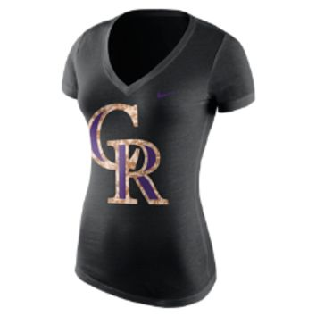 Nike Patriot Pack (MLB Rockies) Women's T-Shirt: Size XL (Black)
