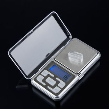1pcs New 500g 0.1g Scale Electronic Mini Digital Pocket Weight Jewelry Diomand Balance digital scale scale jewelry Hot Sale