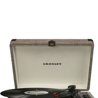 Crosley Cruiser Deluxe Retro Bluetooth Turntable - Havana Fabric