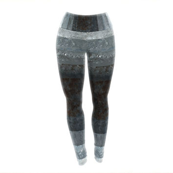 "CarolLynn Tice ""Art Box"" Yoga Leggings"