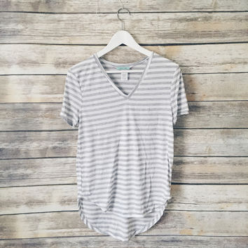 Alex and Jane Striped Tee