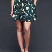 Gap Women Ikat Flippy Skirt