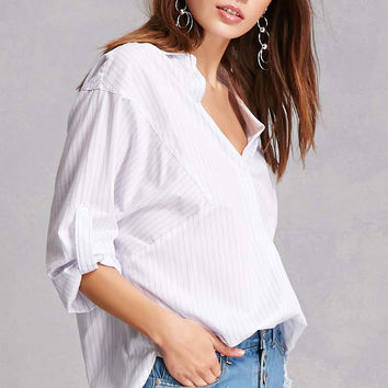 Lush Oversized Striped Top