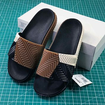 Alexander Wang By Adidas Originals Adilette Sandals #12 - Sale