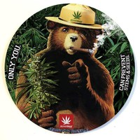 SMOKEY THE BEAR DAB MAT