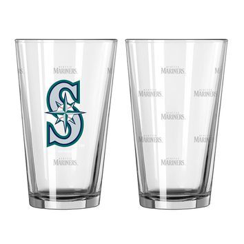 Seattle Mariners 2-pc. Pint Glass Set (Mns Team)