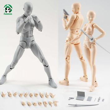 New Body Action Figure Reference Dolls for Drawing PVC Models Kids Toys Action Toy Figures Collectible Gift Toy
