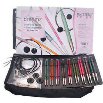 Knitters Pride Symfonie Dreamz Deluxe Interchangeable Knitting Needle Set