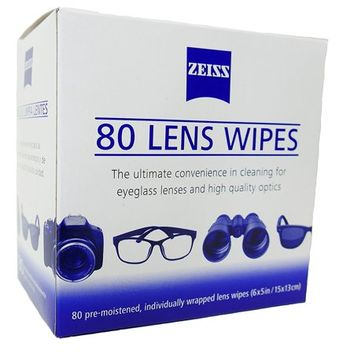 Zeiss Pre Moistened Lens Cleaning Wipes 80 Count  - Walmart.com